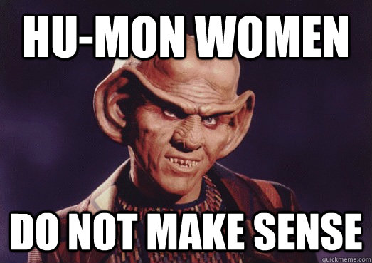 hu-mon women do not make sense
