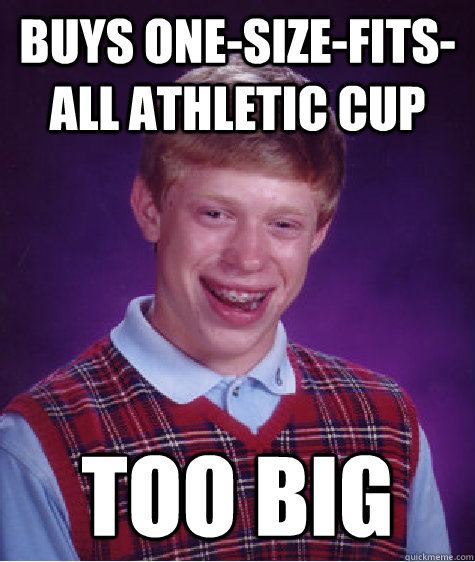 Athletic Cup Athletic Cup Too Big