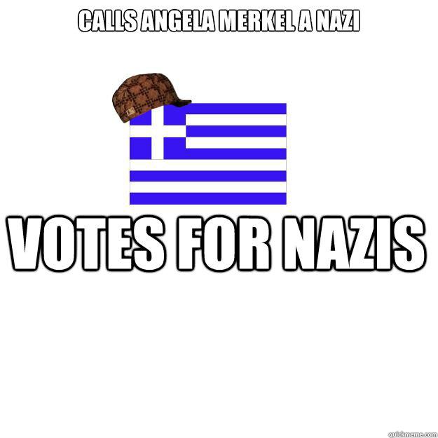 Calls Angela Merkel a Nazi Votes for Nazis