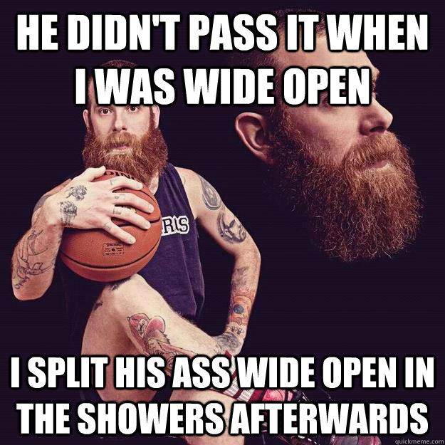 Ass split open