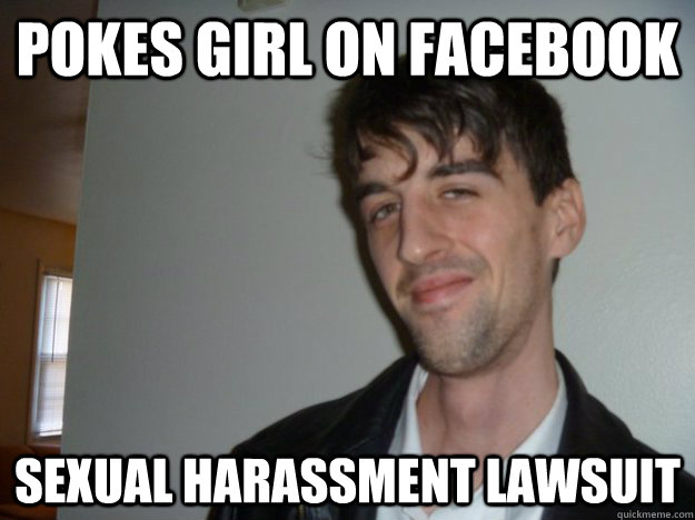 Sexual harassment funny meme face