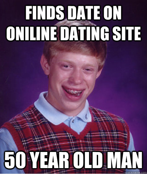 dating a man over 50 meme