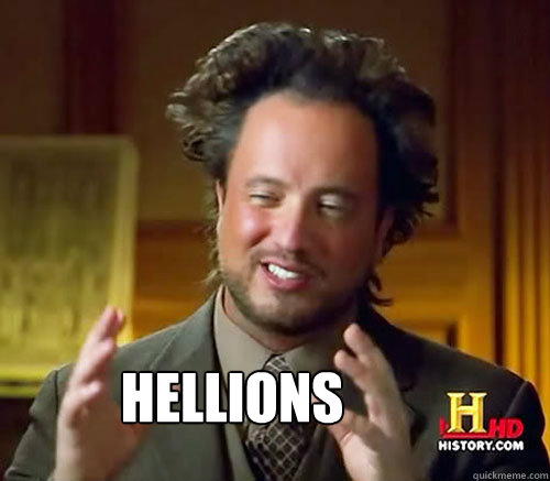 Hellions  Aliens Histroy Channel What
