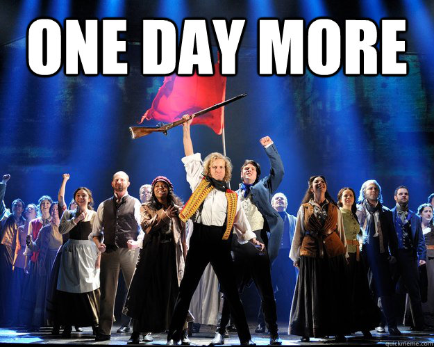 ONe day more   One Day More