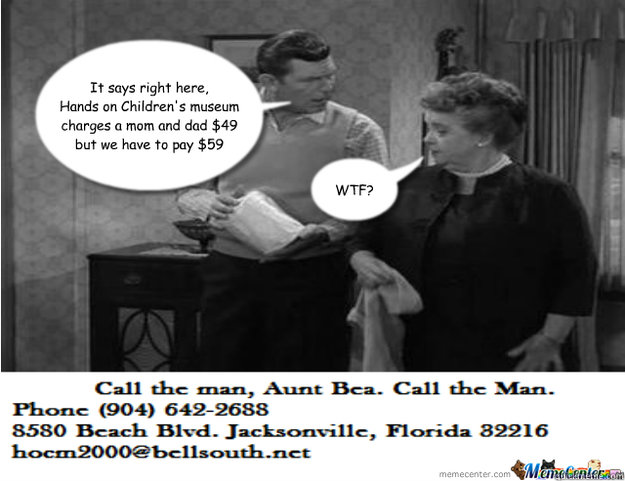 Funny Memes For Aunts : Call hands on childrens museum aunt bea quickmeme