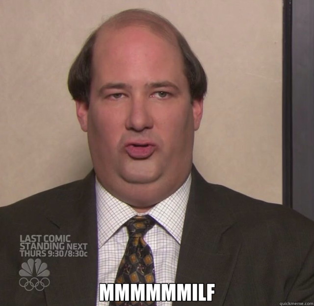 Kevin Malone This Is A New Food For Me