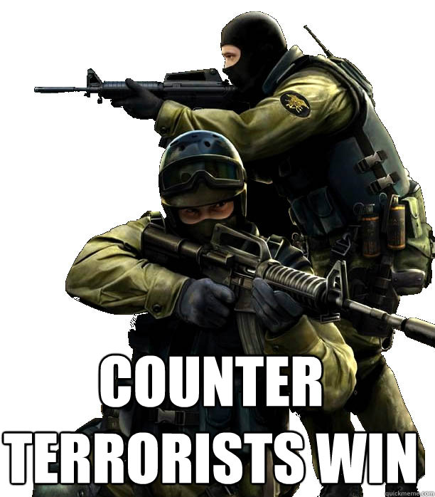 Counter-Terrorist Win!