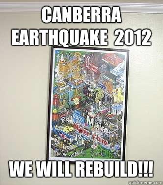 canberra earthquake - photo #3