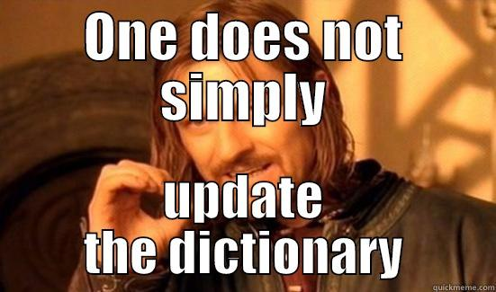 Boromir on the French spelling reform - ONE DOES NOT SIMPLY UPDATE THE DICTIONARY Boromir