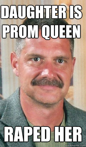 daughter is prom queen raped her