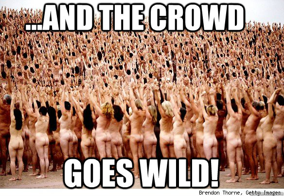 ...AND THE CROWD GOES WILD! - ...AND THE CROWD GOES WILD!  Misc