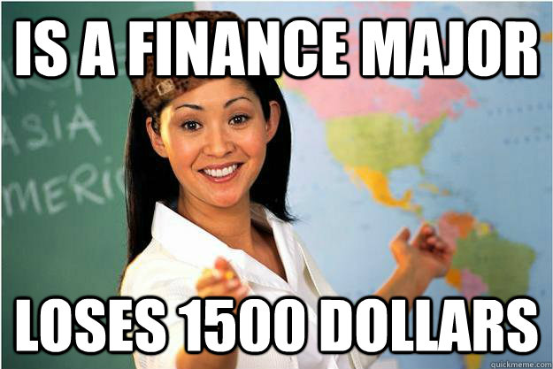 Finance what is major
