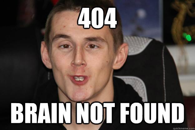 404 Brain not found