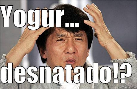 YOGUR...              DESNATADO!? EPIC JACKIE CHAN