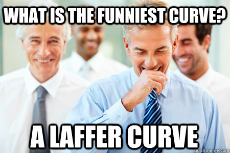 What is the funniest curve? A Laffer Curve