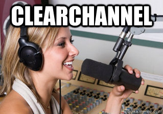 clearchannel  - clearchannel   scumbag radio dj
