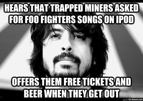 72547269bce21f54b9e8a77534c87e5b483272c57de8471bfc936f606f401598 wbc protest outside foo fighters show counters protest with humor,Foo Fighters Meme