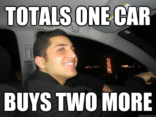 totals one car buys two more