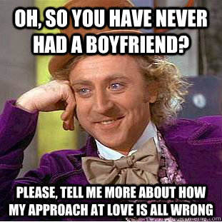 what to do if you have never had a boyfriend