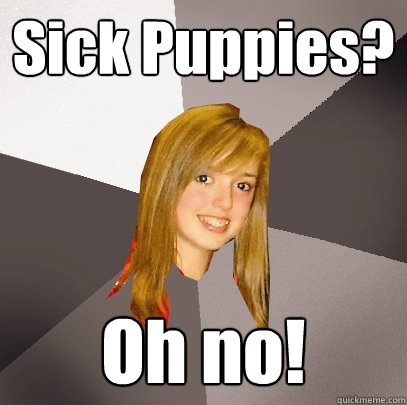 Sick Puppies? Oh no! - Sick Puppies? Oh no!  Musically Oblivious 8th Grader