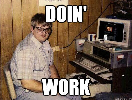 DOIN' WORK