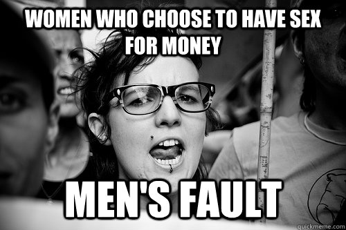 women having sex for money