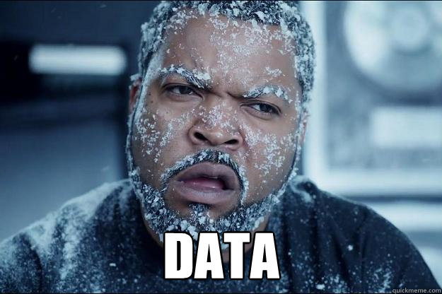 Data  Ice cube in coke