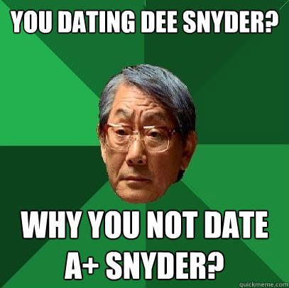 Snyder dating