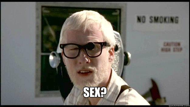 sex?  You rang