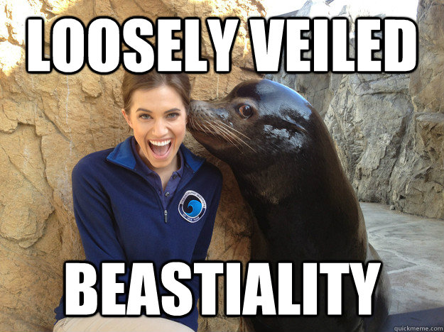 Loosely veiled beastiality - Loosely veiled beastiality  Crazy Secret