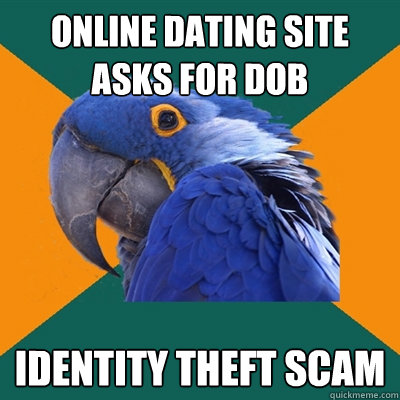dating sites identity theft