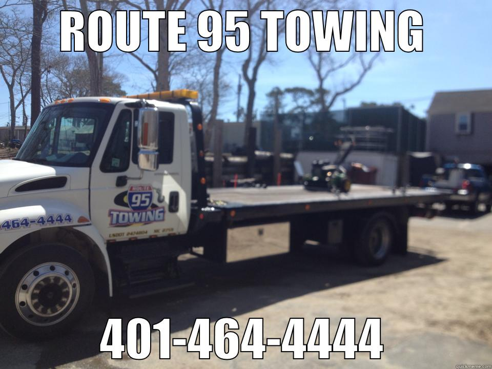 ROUTE 95 TOWING 401-464-4444 Misc