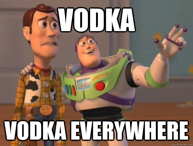 Vodka Vodka Everywhere - Vodka Vodka Everywhere  Buzz Lightyear