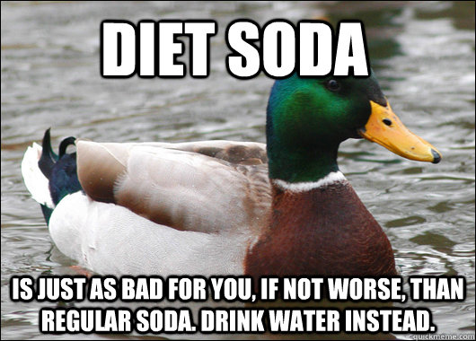 why diet soda is worse than regular