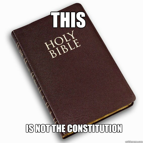 THIS is not the constitution