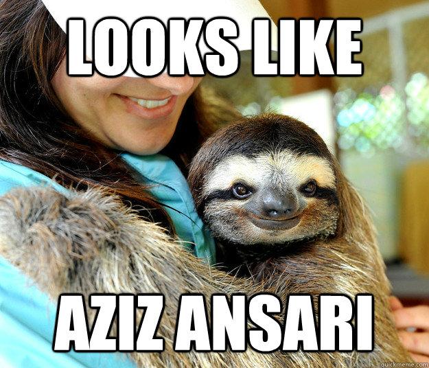 looks like aziz ansari