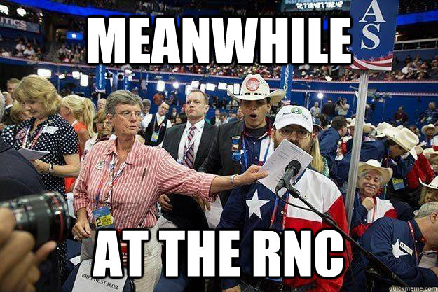 meanwhile AT THE RNC - meanwhile AT THE RNC  Misc