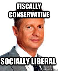 Fiscally Conservative Socially Liberal