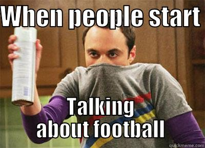 Image result for football sucks meme
