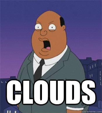 clouds  Ollie Williams