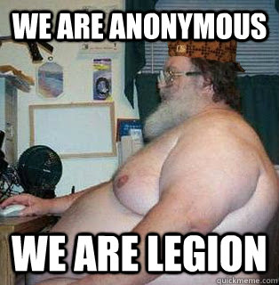 fat anonymous guy