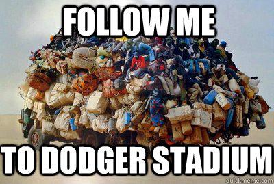 Follow ME To dodger stadium