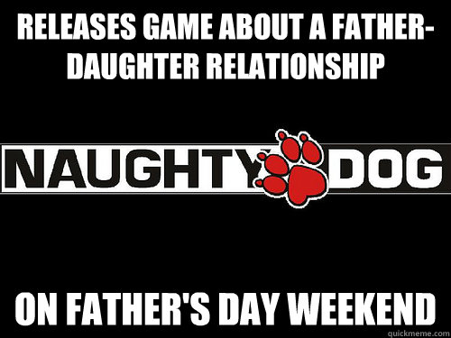 releases game about a father-daughter relationship on father's day weekend