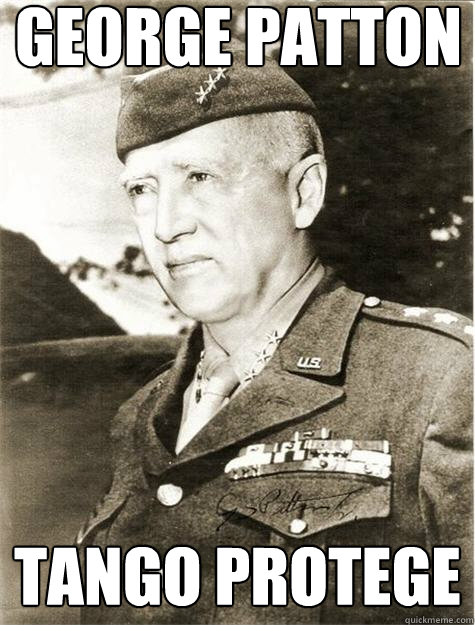 George Patton Tango Protege  Historic Anagrams