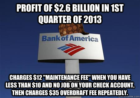 Profit of $2.6 Billion in 1st quarter of 2013 charges $12