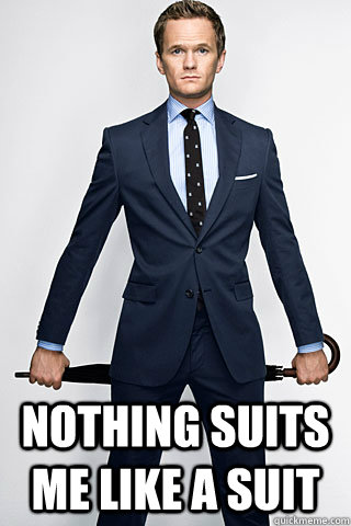 Nothing suits me like a suit -  Nothing suits me like a suit  Misc