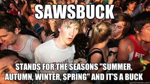Sawsbuck stands for the seasons
