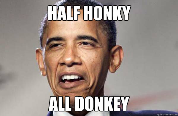Half Honky All Donkey - Half Honky All Donkey  Ermahgerd Obama