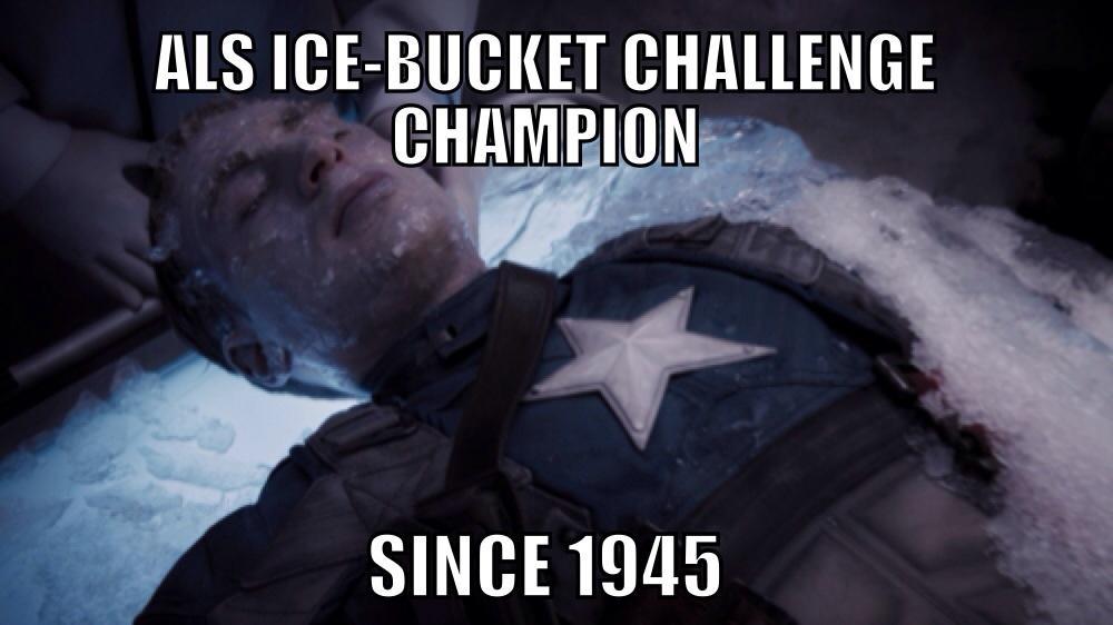 ALS Ice-Bucket Challenge Champion -   Misc