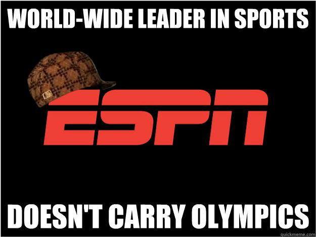 World-Wide leader in sports Doesn't carry Olympics